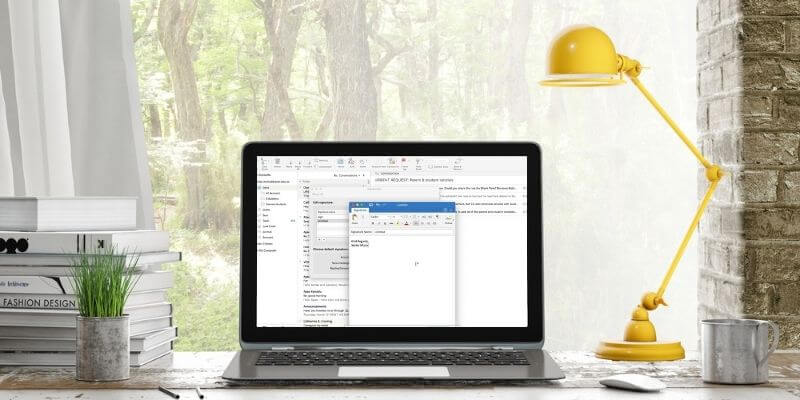 How to Add a Professional Email Signature in Outlook
