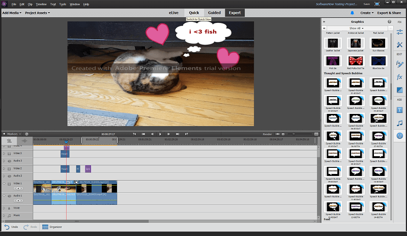 Adobe premiere elements review turn home movies into masterpieces when it comes to working with audio premiere elements is a bit more limited than other video editors there dont appear to be any noise cancellation tools ccuart Image collections