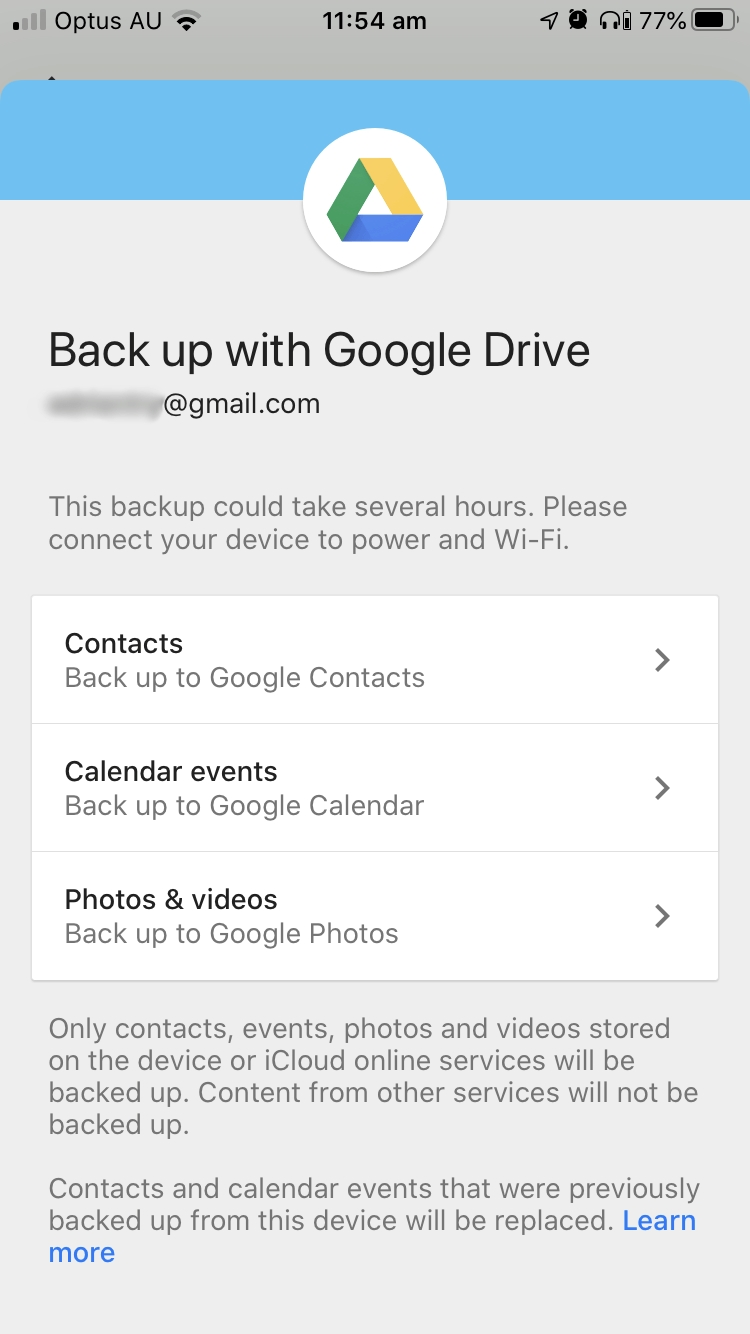 Back-Up-iPhone-to-Google-Drive12