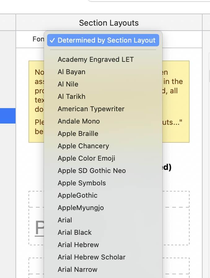 Change Default Font in Scrivener8