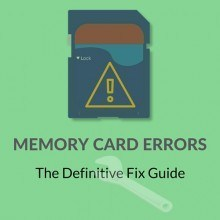 Guide to Fix SD Memory Card Errors