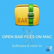 How to Open RAR Files Mac