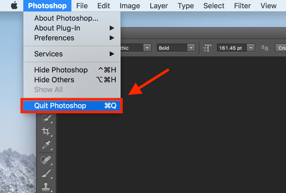 How to load font into photoshop