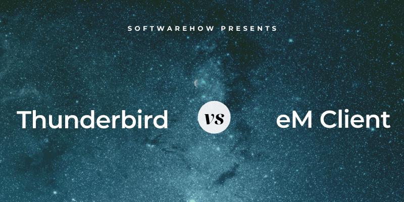 em client vs thunderbird
