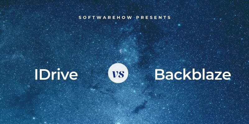 IDrive vs. Backblaze
