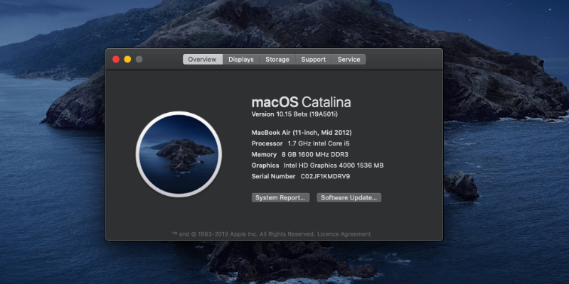 Image result for macos catalina version