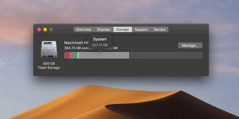 "How to Clean ""System"" Storage That's Taking Huge Disk on Mac"
