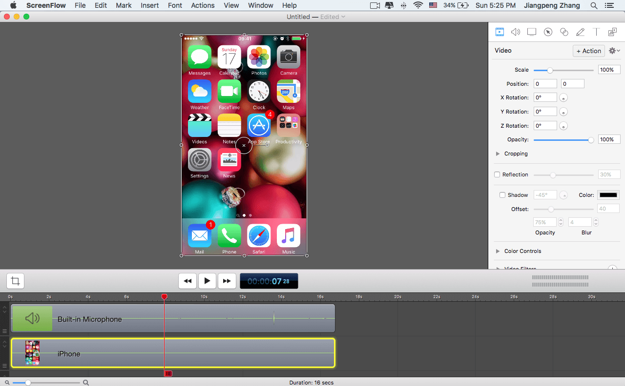 Step 3: Edit The Video As You Desire You Can Cut And Drag Certain Pieces,  Add Callouts, Adjust Transparency, And More