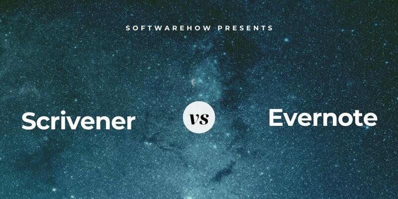 Scrivener vs. Evernote