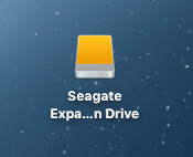 seagate expansion drive how to get to run on mac