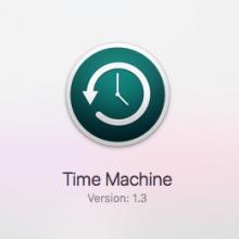 time machine version 1.3 macos high sierra
