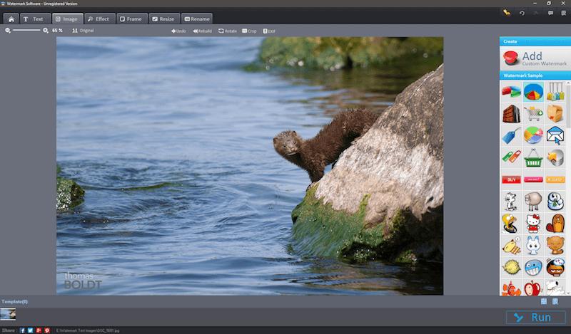 free photo editing software to add watermark