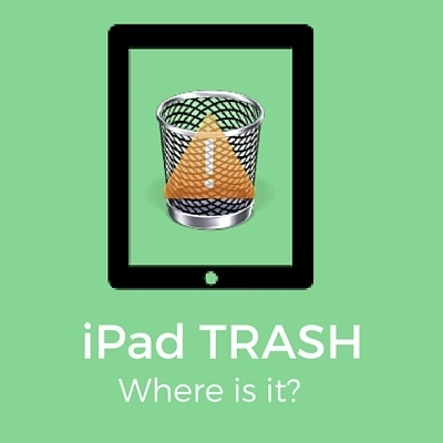 where is iPad Trash?